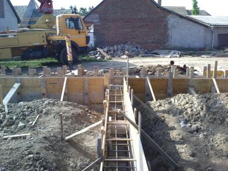 Molnár ház építése 2. Fázis