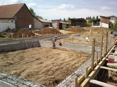 Molnár ház építése 3. Fázis