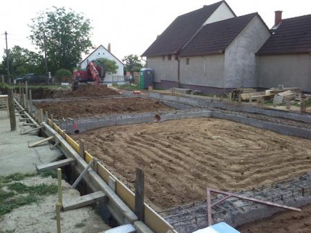 Molnár ház építése 4. Fázis