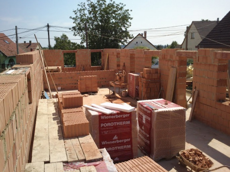 Molnár ház építése 5. Fázis