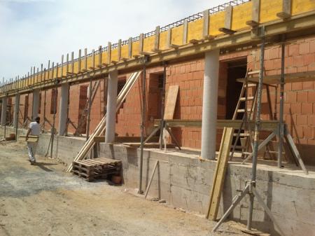 Molnár ház építése 6. Fázis