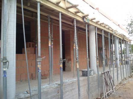 Molnár ház építése 7. Fázis