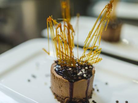 Belga csokoládés fekete ribizlis varázslat