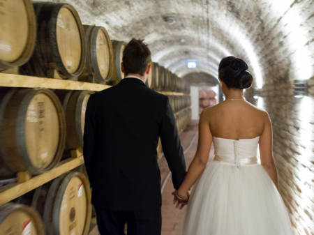 Wedding Venue - Bock Hotel Ermitage - 100-metre-long cellar