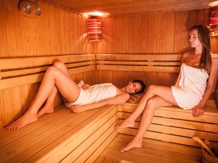 Wellness részleg - Bock Hotel Ermitage - Szauna