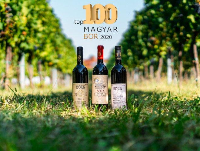 TOP100 Magyar bor 2020: Bock a legjobb vörösbor