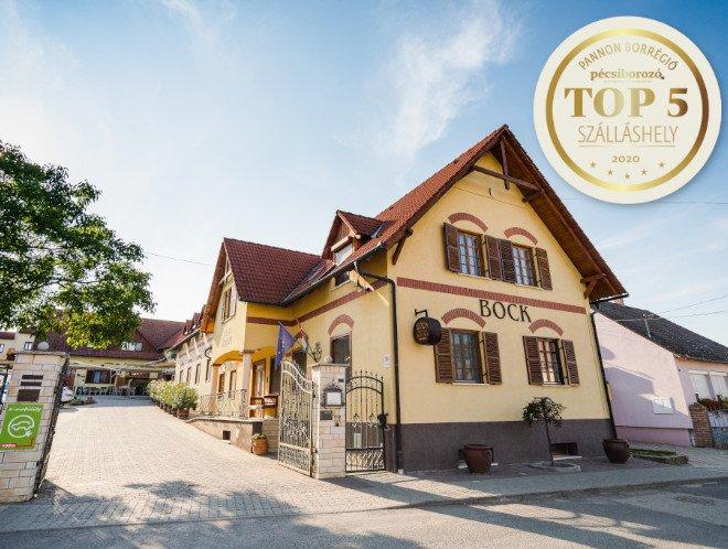 A Pannon Borrégió legjobbjai között a Hotel Ermitage****