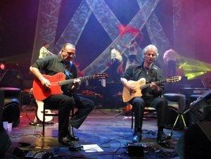 Latin Duó (Tátrai Tibor és Szűcs-Antal Gábor) a Bock Körpincében (19.30-20.30)
