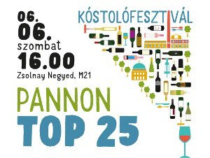 Pannon TOP25 kóstolófesztivál